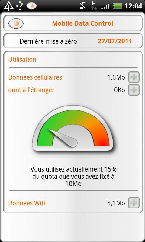 Mobile Data Control