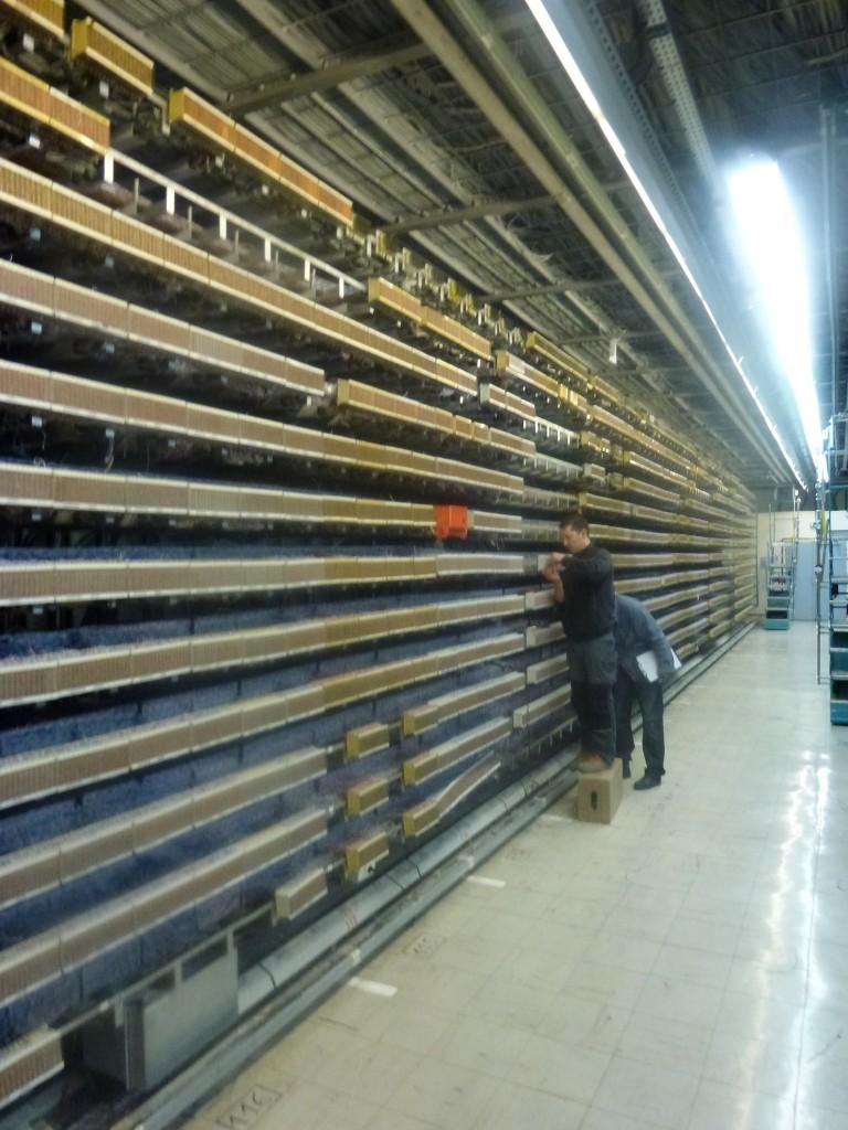 NRA de Levallois avec les racks de brassage
