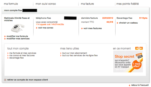 orange rafraichit son espace client livebox news communaut orange et livebox. Black Bedroom Furniture Sets. Home Design Ideas
