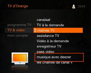 orange am liore la tv d 39 orange par satellite avec deezer et l 39 enregistreur livebox news. Black Bedroom Furniture Sets. Home Design Ideas