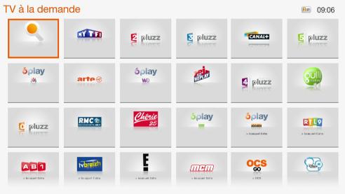 TV Replay d'Orange